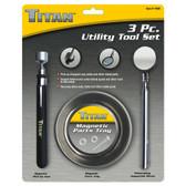 Titan Tools 11065 Utility Tool Set 3 Pc