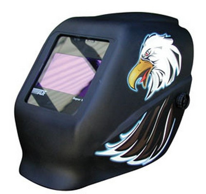 ATD Tools 3727 Auto-Darkening Variable Filter Shade Eagle Helmet