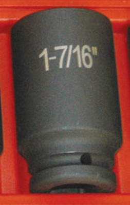 "ATD Tools 6446 3/4"" Drive 6-Point Deep Fractional Impact Socket - 1-7/16"""