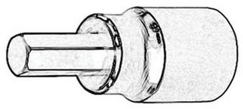 ATD Tools 124552 Hex Bit Socket, 3mm