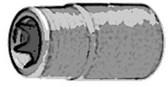 """ATD Tools 153 1/4"""" Drive E4 Star TORX® Bit Socket"""