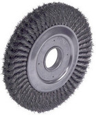 "ATD Tools 8248 8"" Heavy-Duty Wire Wheel Brush"