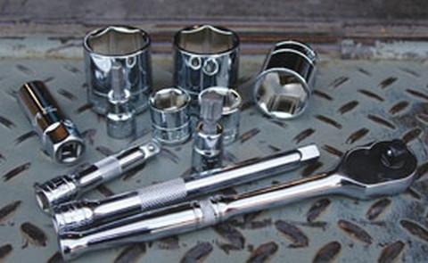 "ATD Tools 136011 1/2"" Dr. 6pt Chrome Socket, 1"""