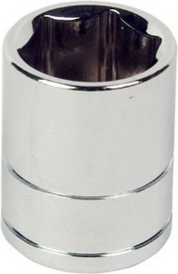 "ATD Tools 136036 1/2"" Dr. 6pt Chrome Socket, 32mm"