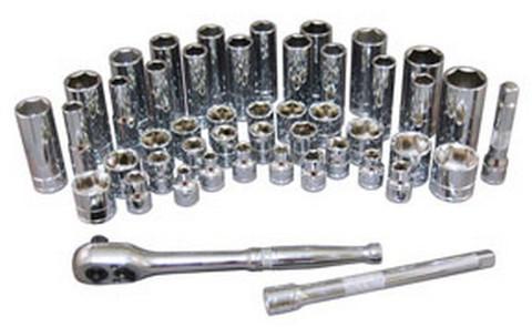 """ATD Tools 12457 3/8"""" Drive 6-Point Standard Metric Socket - 9mm"""