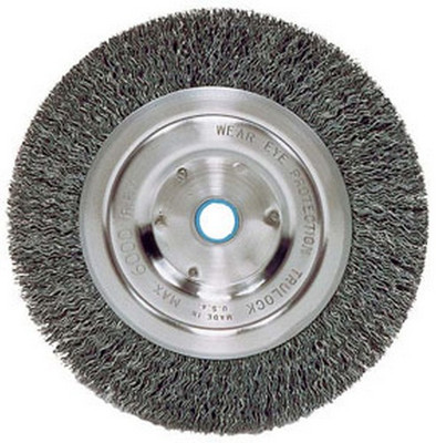 "ATD Tools 8260 7"" Medium-Duty Wire Wheel Brush"
