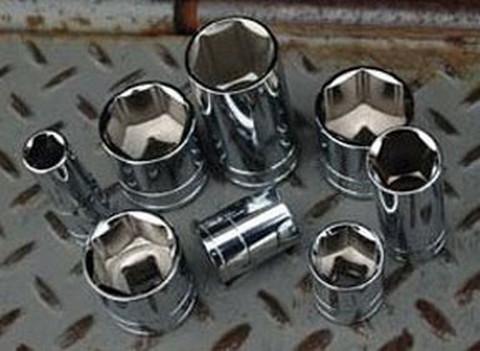 """ATD Tools 136050 1/2"""" Dr. 6pt Chrome Socket, 30mm"""