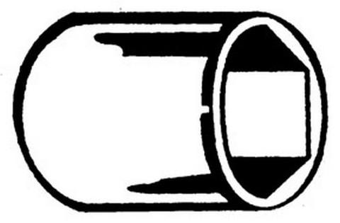 """ATD Tools 136012 1/2"""" Dr. 6pt Chrome Socket, 10mm"""