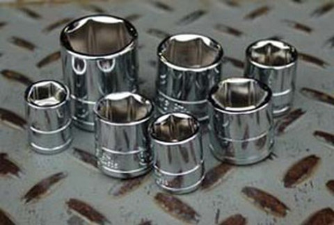 """ATD Tools 124516 3/8"""" Drive 6-Point Standard Metric Socket - 18mm"""