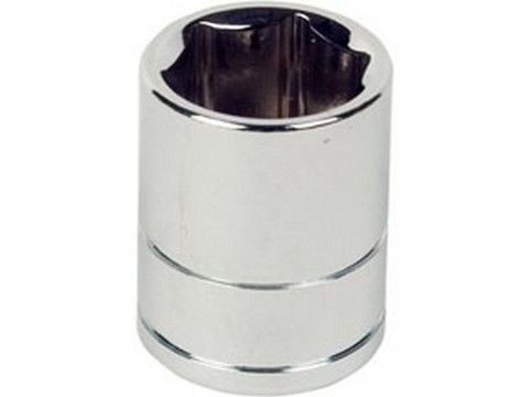 "ATD Tools 13602 1/2"" Dr. 6pt Chrome Socket, 7/16"""