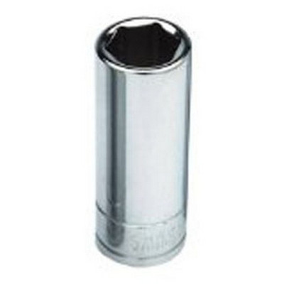 "ATD Tools 124520 3/8"" Drive 6 Point Deep Socket, 12mm"