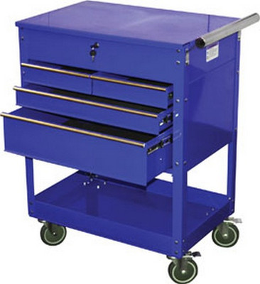 ATD Tools 7047 Professional 4-Drawer Service Cart, Blue