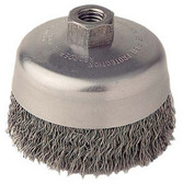 "ATD Tools 8230 4"" Crimped Wire Cup Brush"