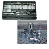 """ATD Tools 120028 1/4"""" Drive 6-Point Standard Fractional Socket - 7/32"""""""
