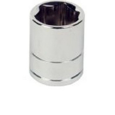 "ATD Tools 124517 3/8"" Drive 6-Point Standard Metric Socket - 19mm"