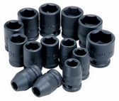 "ATD Tools 4115 1/2"" Drive 6-Point Standard Metric Impact Socket - 15mm"