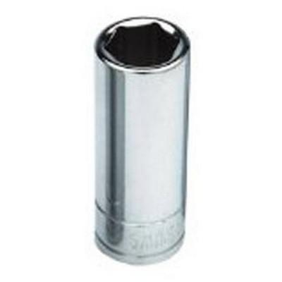 "ATD Tools 124519 3/8"" Drive 6-Point Deep Metric Socket - 11mm"