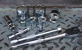 """ATD Tools 124556 3/8"""" Drive Hex Bit Socket, 8mm"""