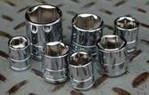 """ATD Tools 124510 3/8"""" Drive 6-Point Standard Metric Socket - 12mm"""