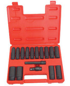 ATD Tools 4350 Deep Metric Impact Socket Set, 16 pc.