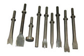 ATD Tools 5730 All- Purpose Air Hammer Chisel Set, 9 pc.