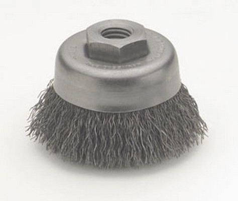 "ATD Tools 8234 3"" Crimped Wire Cup Brush"