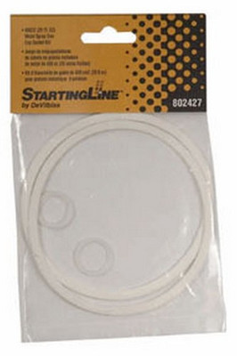 DeVilbiss 802427 StartingLine 600CC Metal Cup Gasket Kit