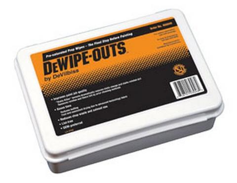 DeVilbiss 803048 DeWipe-Outs Storage Case