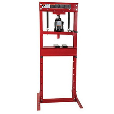ATD Tools 7454 20-Ton Hydraulic Shop Press with Bottle Jack
