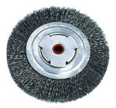 "ATD Tools 8262 7"" Heavy-Duty Wire Wheel Brush"