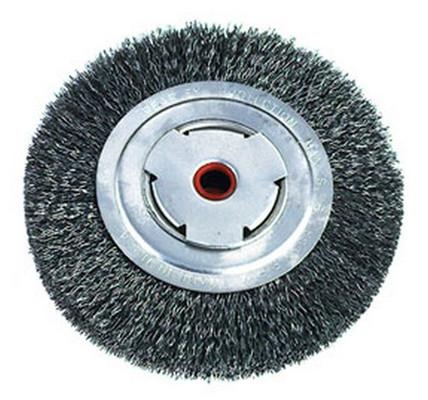 "ATD Tools 8262 7"" Heavy-Duty Wire Wheel Brush"