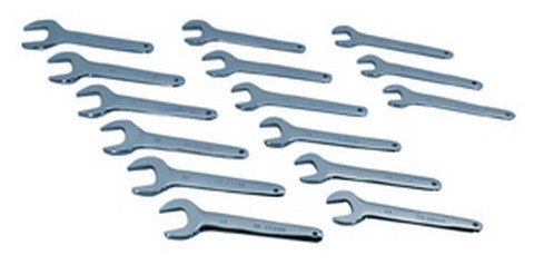 ATD Tools 1450 Metric Jumbo Service Wrench Set, 15 pc.
