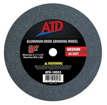 "ATD Tools 10553 Replacement 8"" Medium Grit Grinding Wheel"