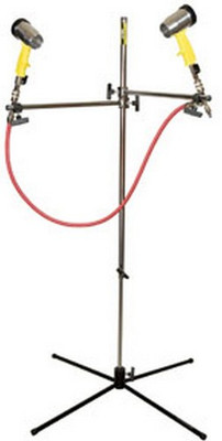 DeVilbiss 130529 Waterborne Paint Air Dryer and Stand (2 Dryer Guns)