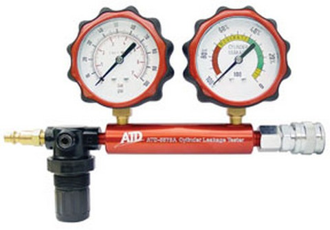 ATD Tools 5573A Cylinder Leakage Tester, 2 Gauge