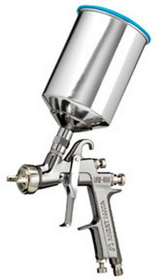 Iwata 5643 LPH400 L-Volt Gravity Fed Spray Gun, 1.3mm with 1000ml Aluminum Cup