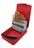 ATD Tools 9231 Popular Size Titanium Coated Premium Drill Bit Set, 31Pc