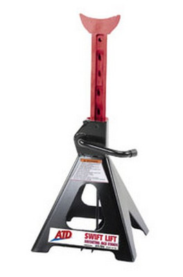 ATD Tools 7346 Swift Lift Ratcheting Jack Stand, 6 Ton