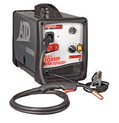 ATD Tools 3130 Mig/Flux Core Welder, 130 Amp