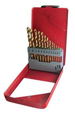 ATD Tools 9213 Titanium Coated Premium Drill Bit Set, 13-Piece