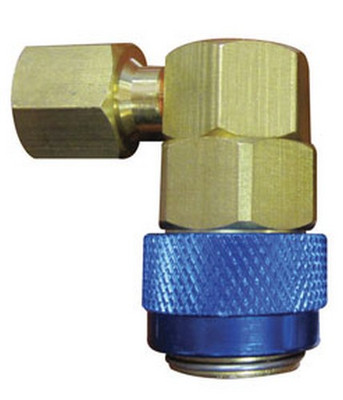 "ATD Tools 3654 A/C Service Couplers, R134a Low Side 1/4"" FL-M x 13mm connection"