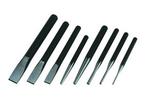 ATD Tools 760 Chisel-Punch Set, 8 pc.
