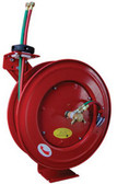"ATD Tools 31170 1/4"" x 50' Retractable Twin Hose Welding Reel"
