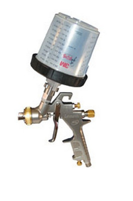 ATD Tools 16813 1.3mm HVLP Spray Gun w/ PPS™ System, w/ free Paint Gun Stand (ATD-6927)
