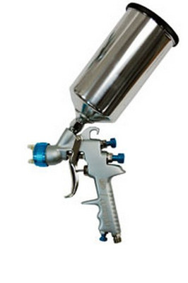 ATD Tools 6865 Leonardo 1.5mm Gravity Feed Spray Gun, w/ a free Paint Gun Stand (ATD-6927)