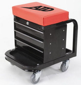 ATD Tools 81047 Heavy Duty Toolbox Creeper Seat, 450lb Capacity