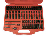 "ATD Tools 2271 1/4"" Dr. Sae & Metric Impact Socket Set, 71 Pc."