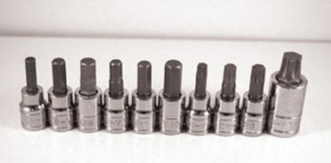 ATD Tools 13789 Brake Caliper Bit Socket Set, 10 pc.