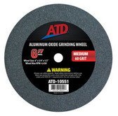 "ATD Tools 10551 Replacement 6"" Medium Grit Grinding Wheel"