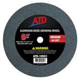 "ATD Tools 10551 Replacement 6"" Medium Grit Grinding Wheel"